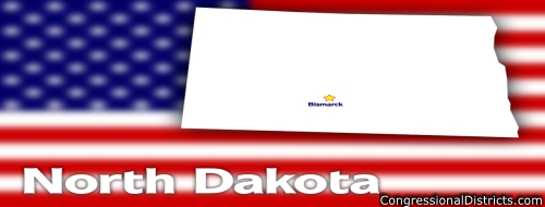 List of Congressional Districts in North Dakota